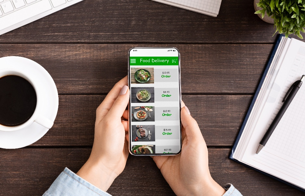 Food ordering from an App-1