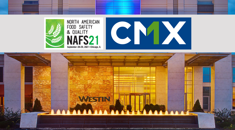 CMX and RBI to Present at 2021 North American Food Safety & Quality Conference